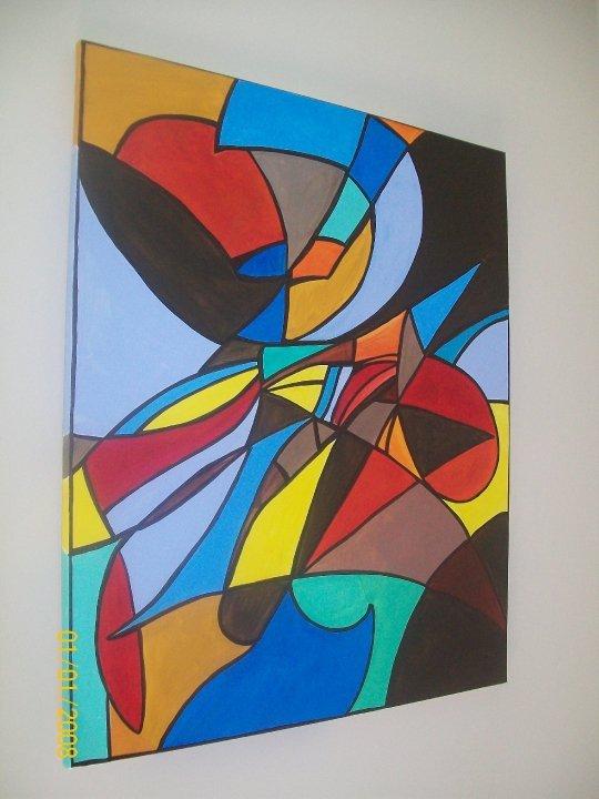 Peinture mosaique for Peinture mosaique
