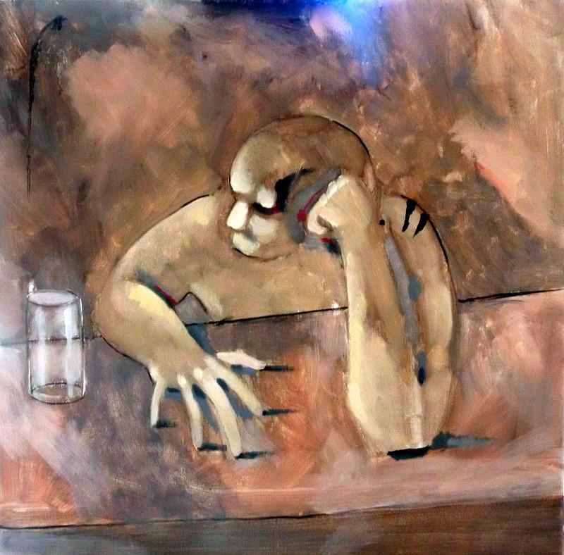 peinture la solitude
