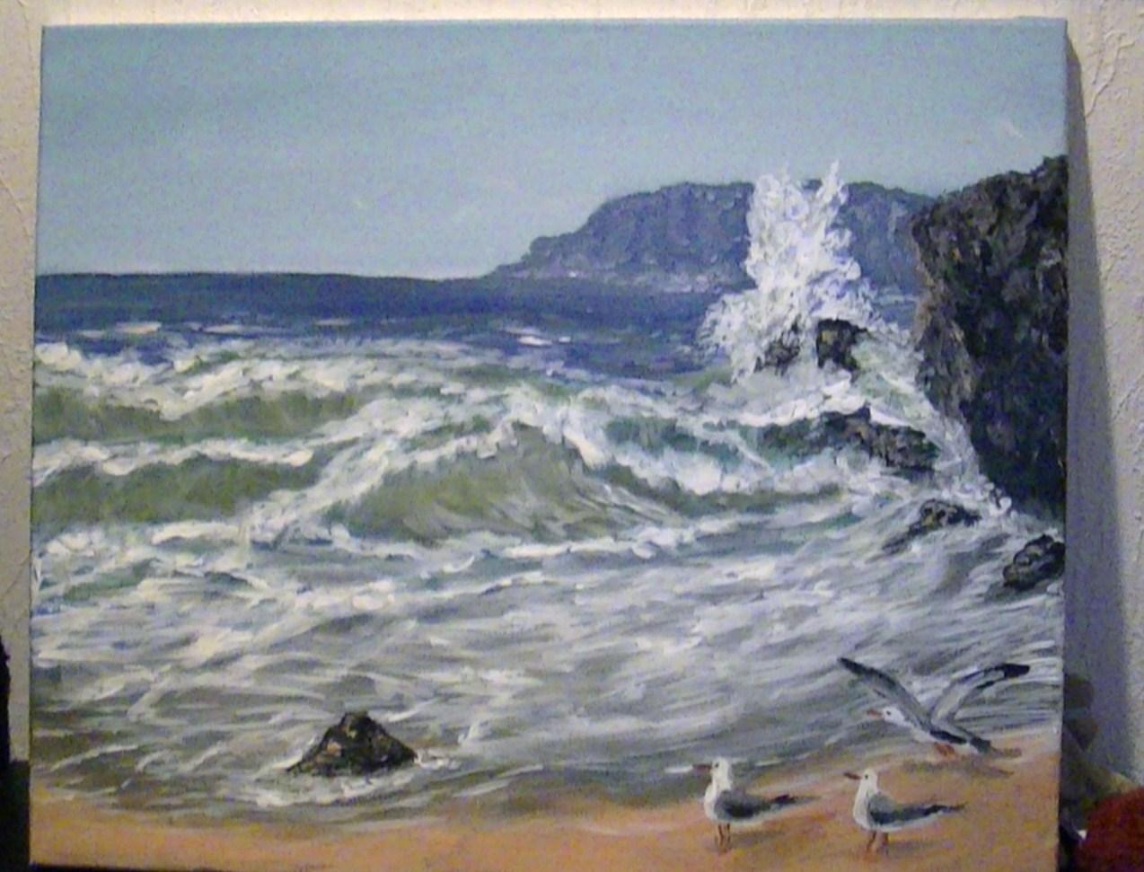 paysage falaise