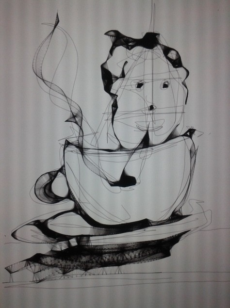 There's someone smoking in your coffee
