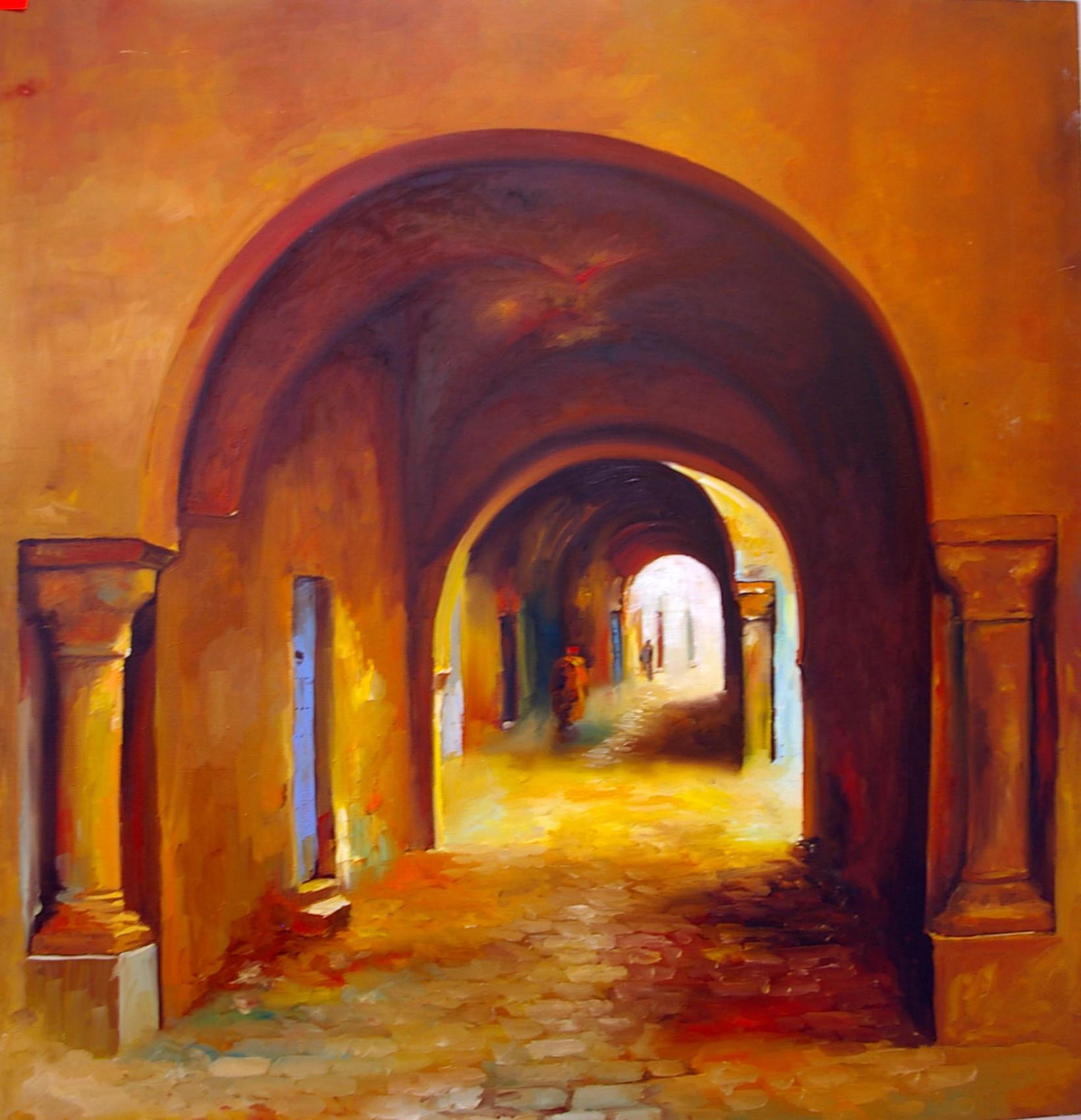Peinture la medina en lumière -> Diffuseur Cuivre De La Medina