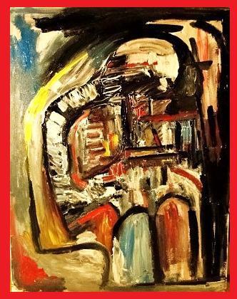 L 'écrivain ( abstrait)