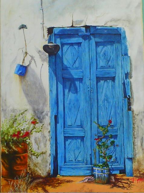 Peinture porte ancienne for Porte ancienne