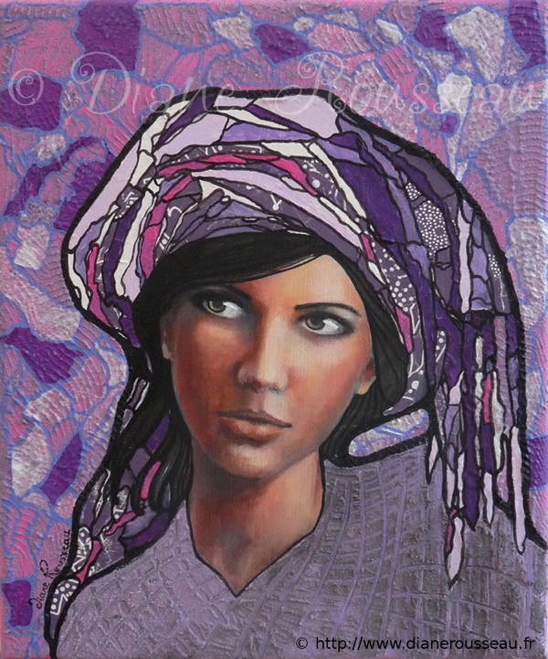 Le Petit Turban violet