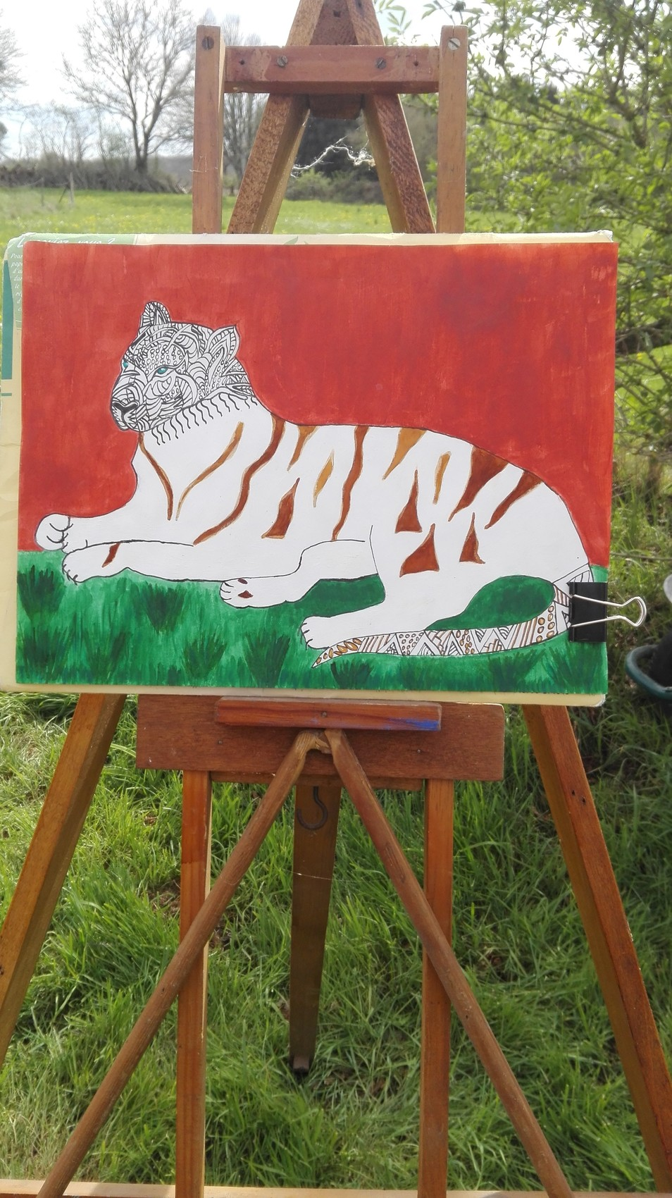 Le tigre au repos