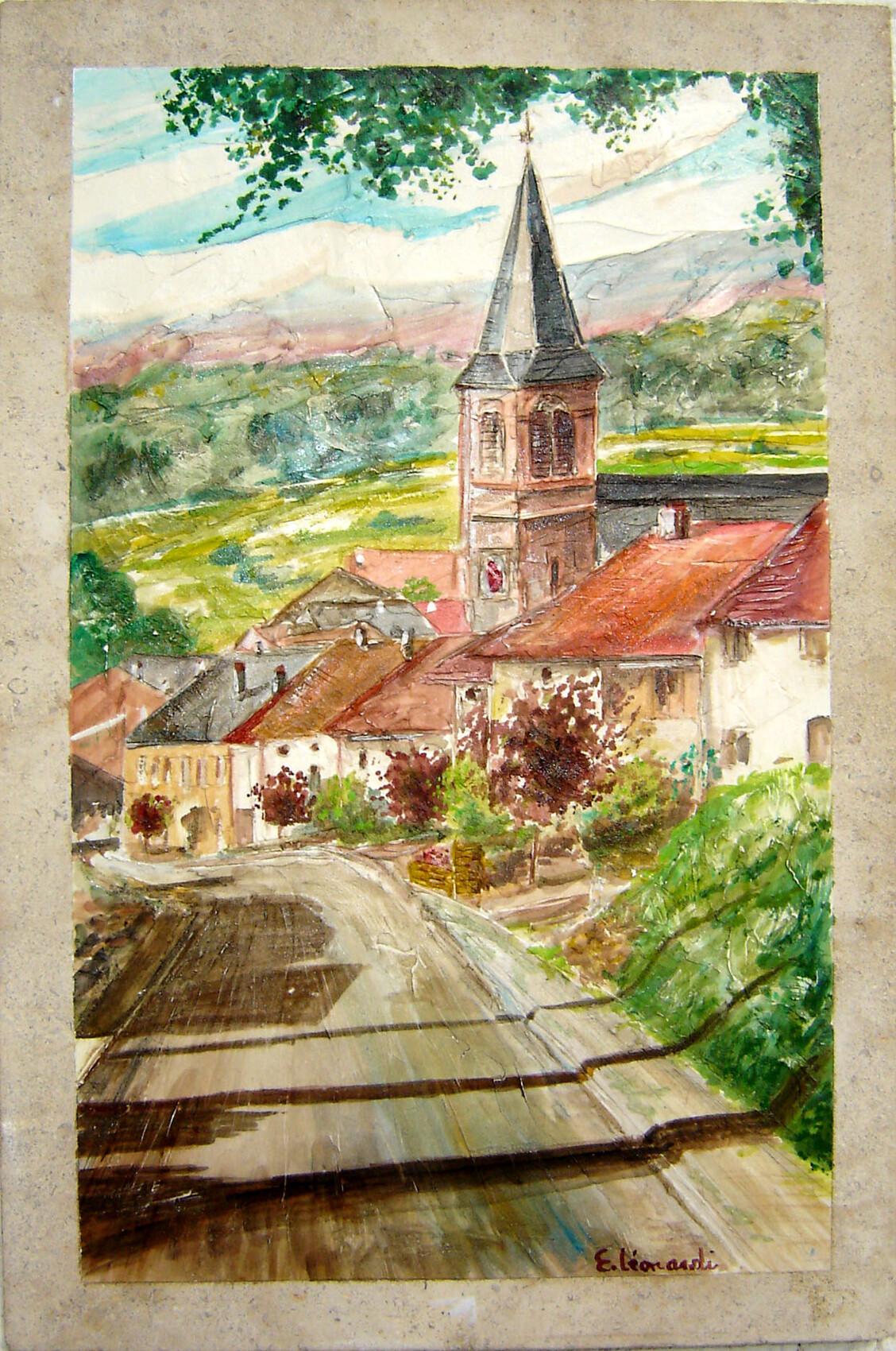 waldweistroff  mon village  Rue du  moulin