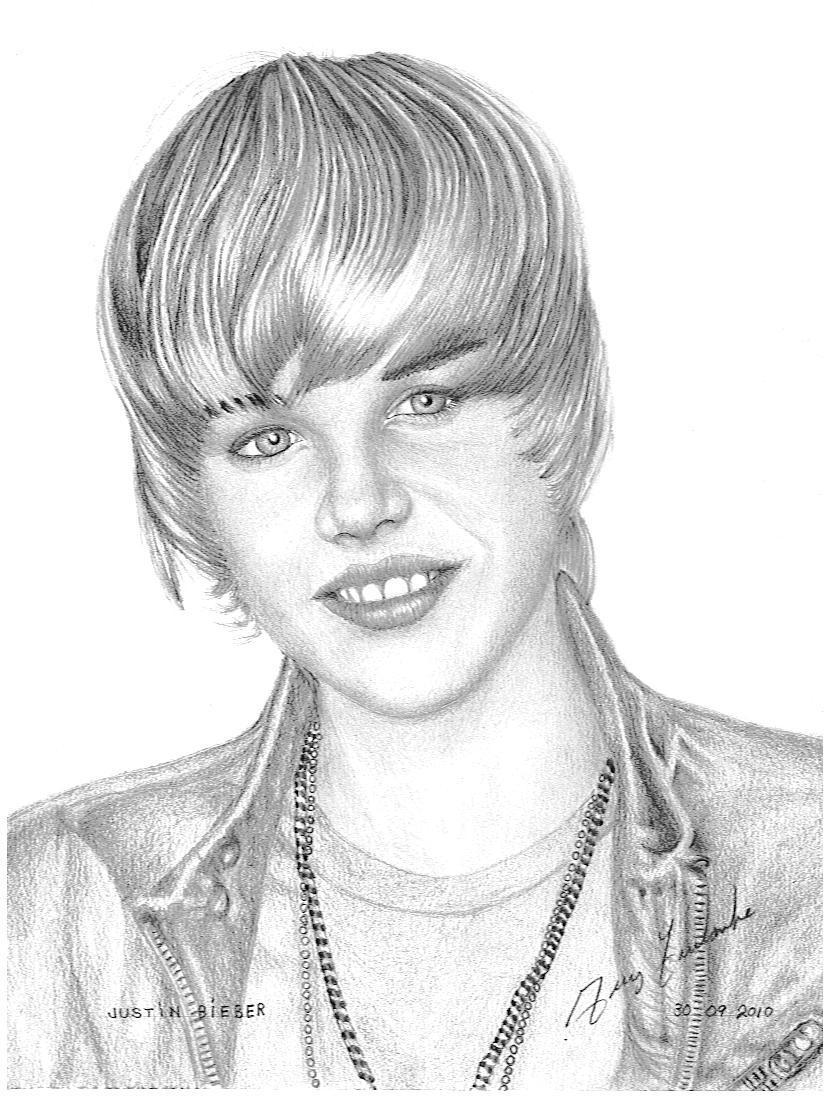 Dessin justin bieber - Justin bieber dessin ...