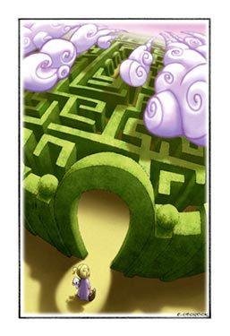 Dessin labyrinthe - Labyrinthe dessin ...