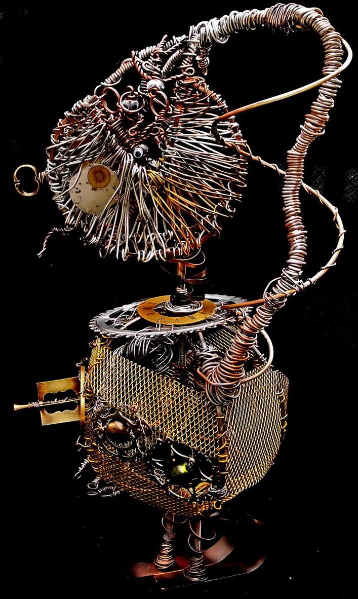Croque-mitaine mécanique