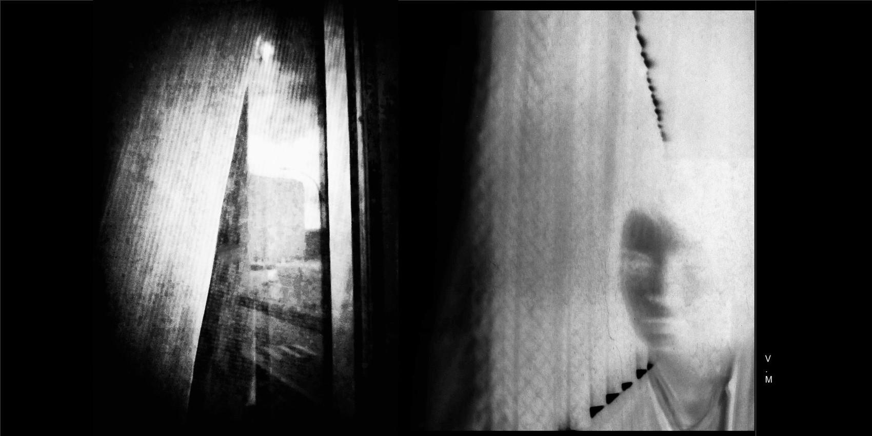"""""""Autoportrait négatif avec fenêtre """" par Vanessa Martinez 2018"""