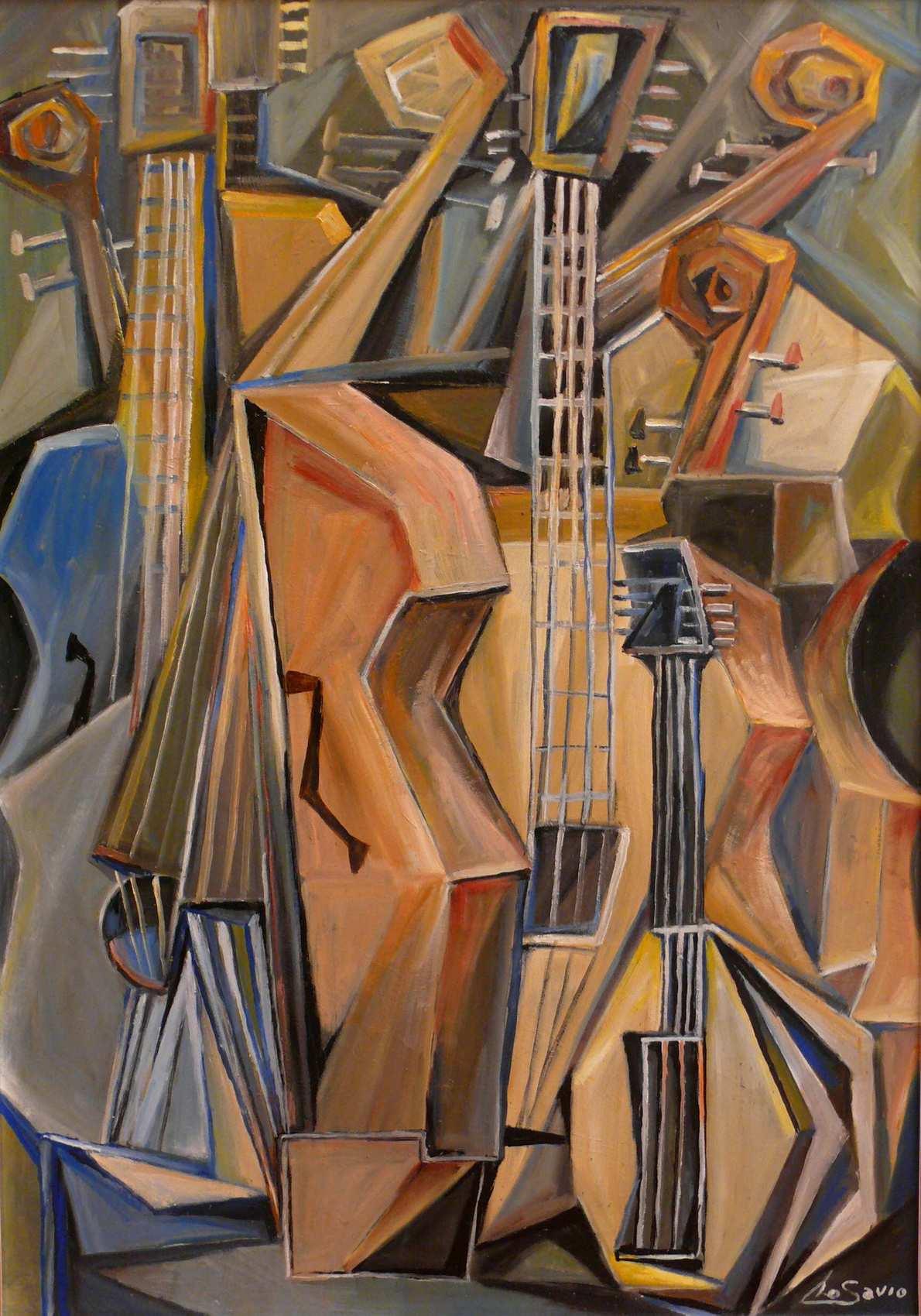 Peinture instruments de musique - 100 pics solution instrument de musique ...