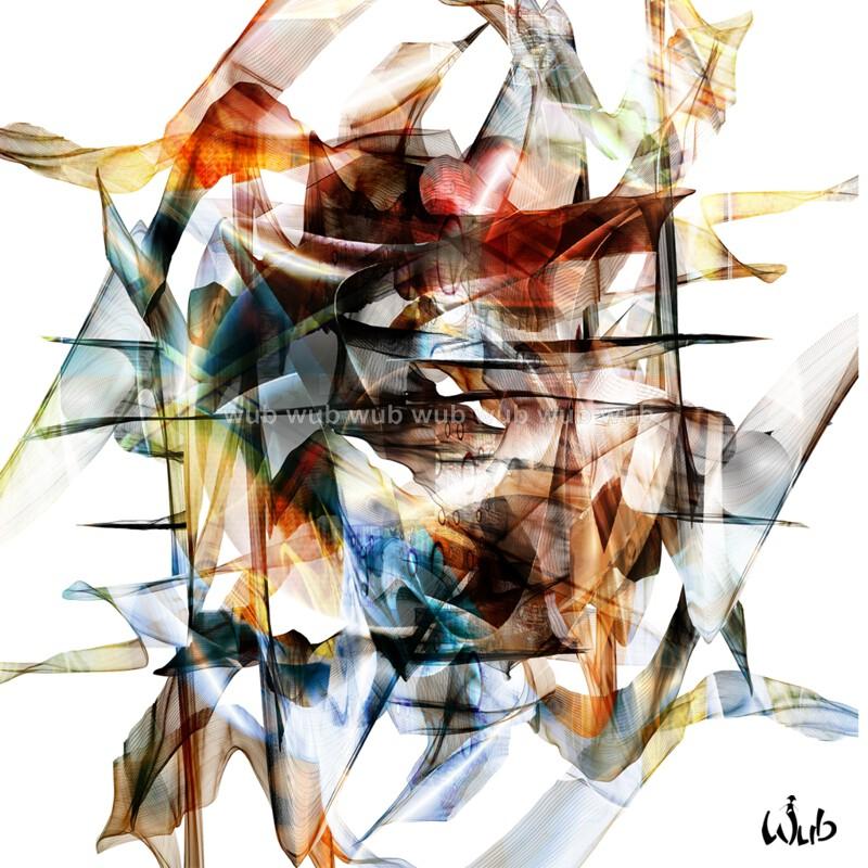 Abstrait voiles