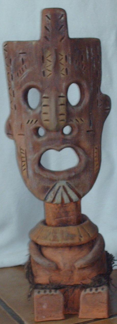 Masque inspiré d'afrique