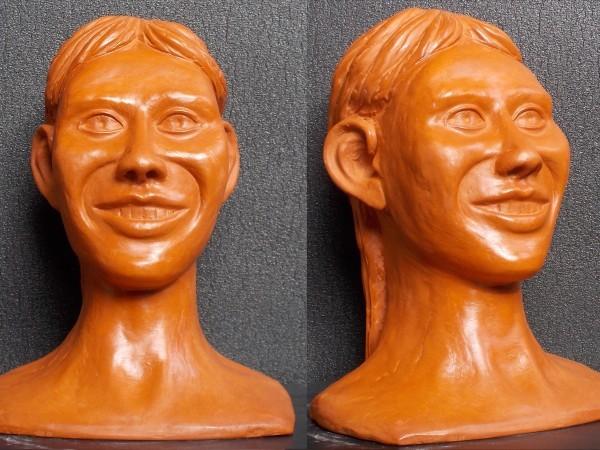 Sculpture en argile ( sculpture numéro 9 )