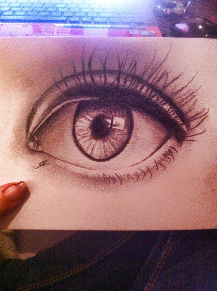 Dessin Oeil Realiste