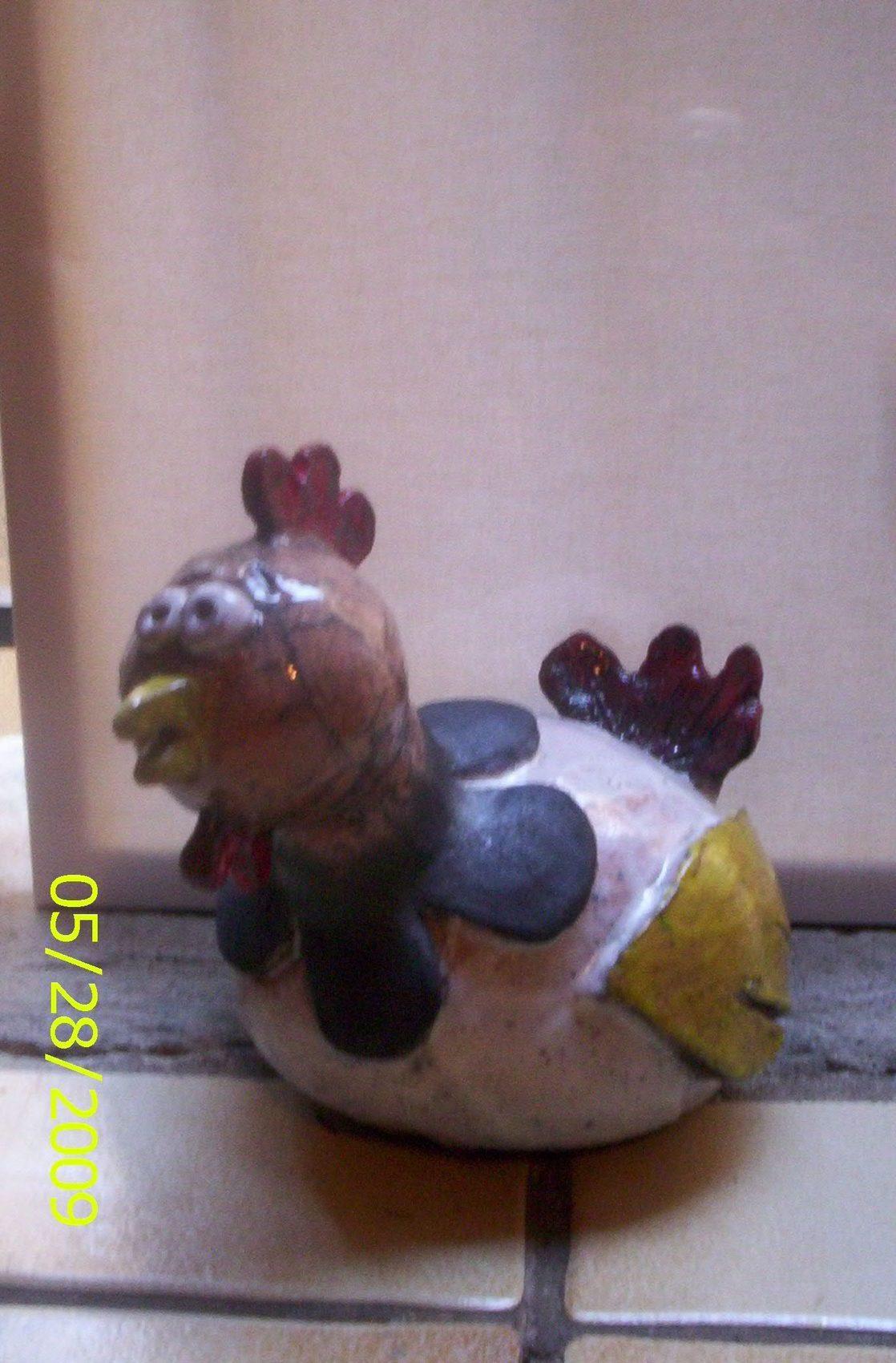 poule en raku
