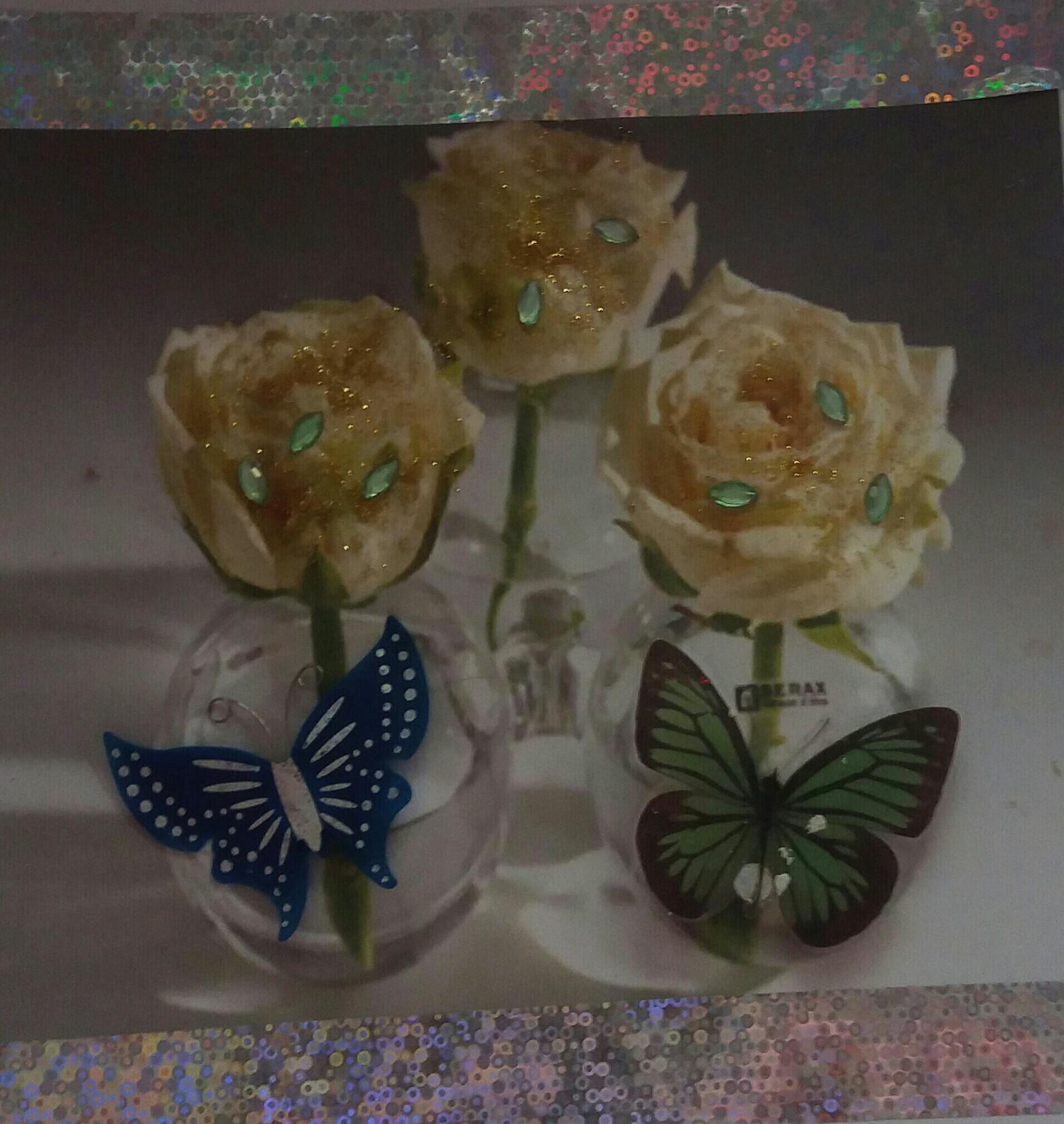 Papillons en pleine noyade