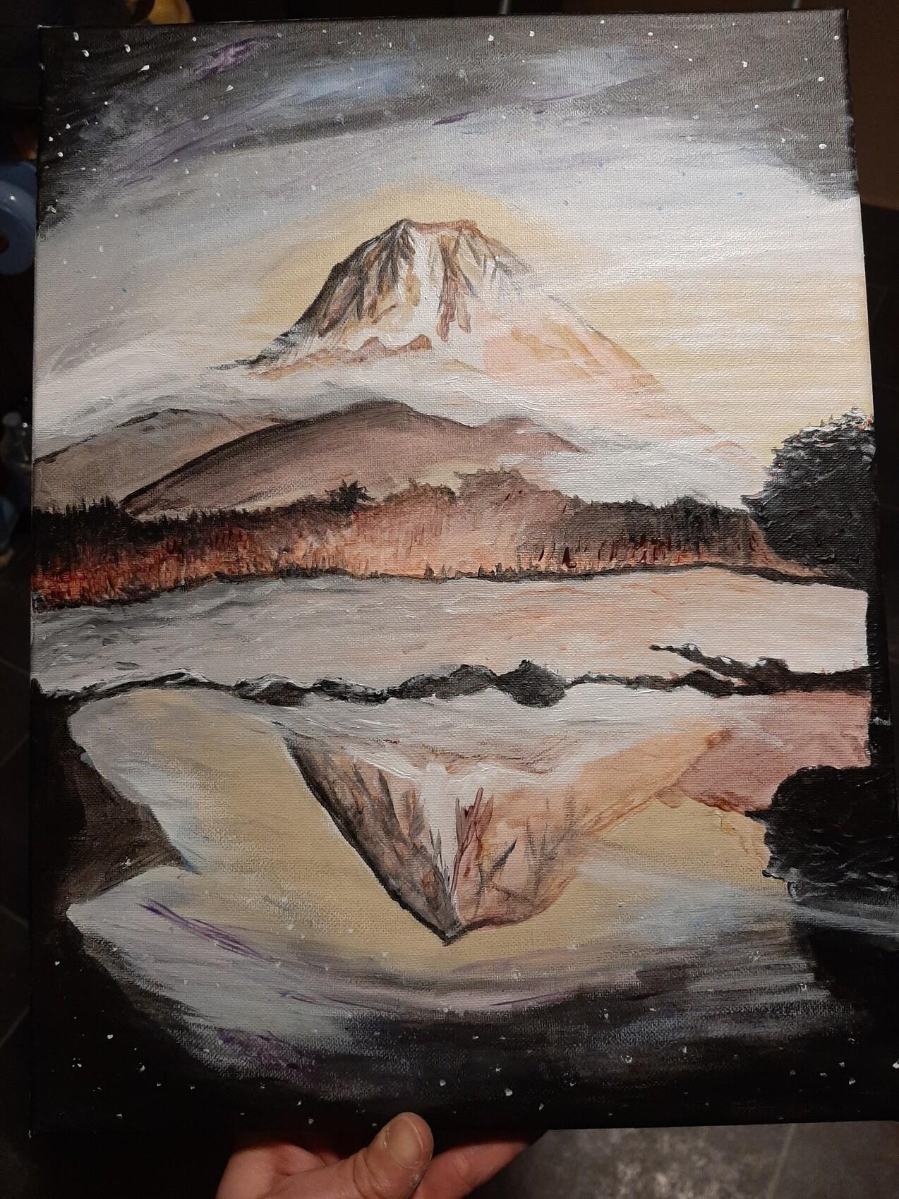 Montagne étoilées