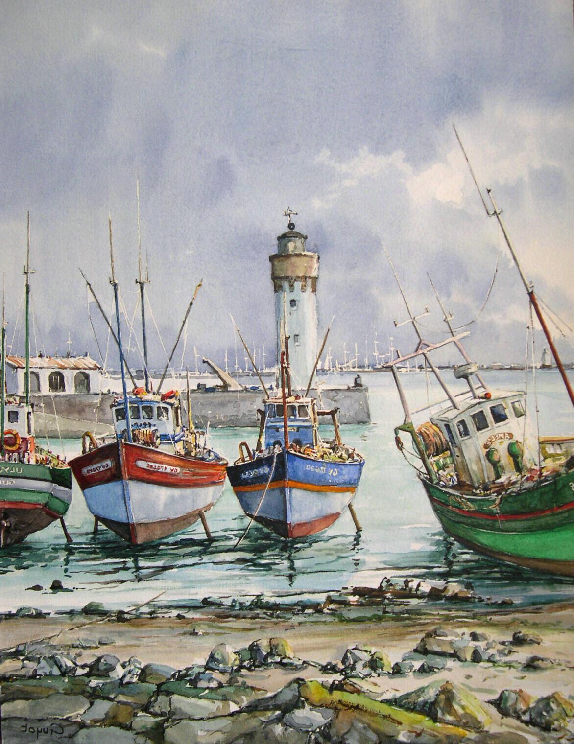 Port de Bretagne.