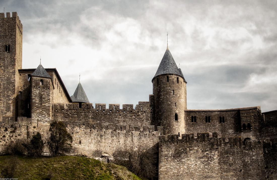 La Cité de Carcassonne .