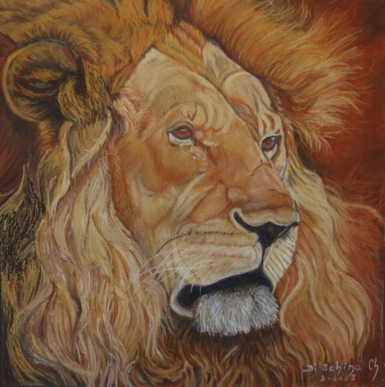 Le lion (50x50)