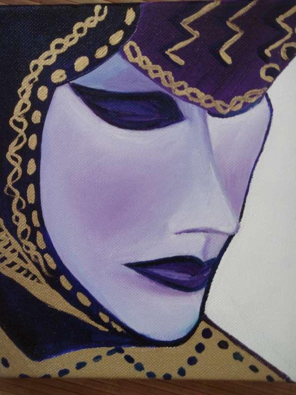 Peinture masque venitien - Masque a peinture ...