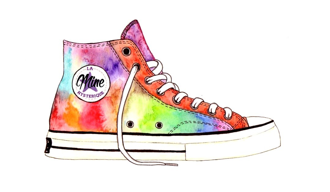 converse illustration