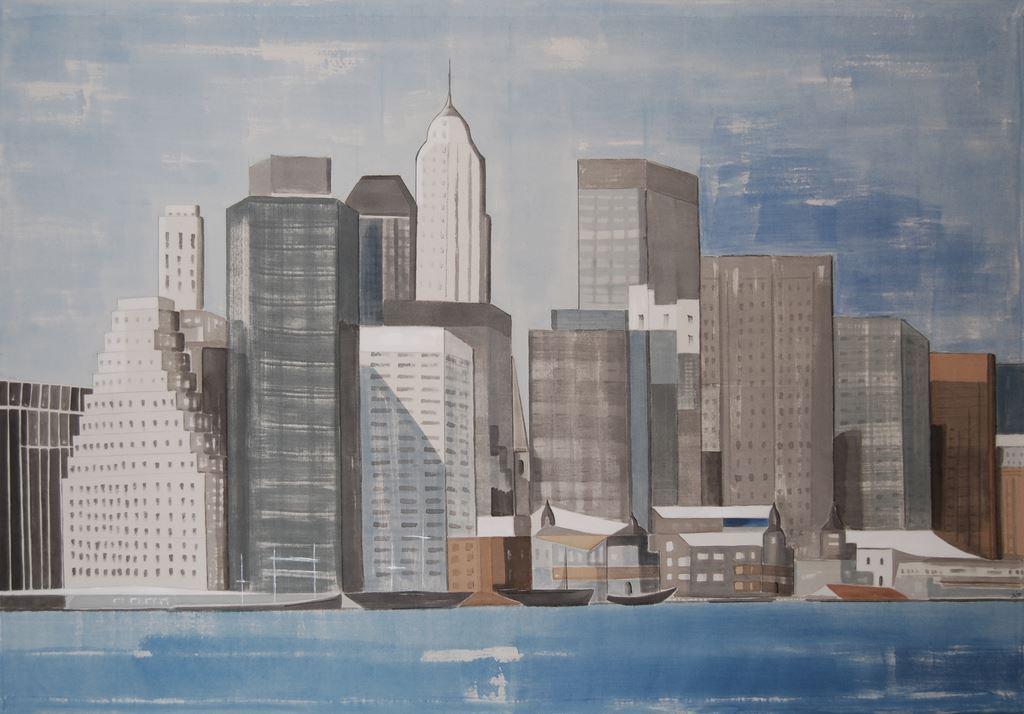 Peinture New York Revisited