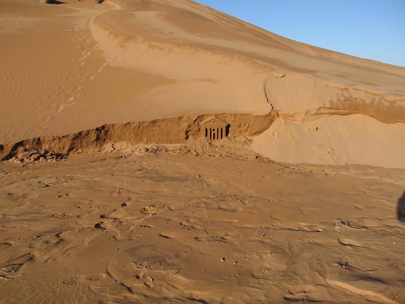 Châteaux de sable - désert du Sahara