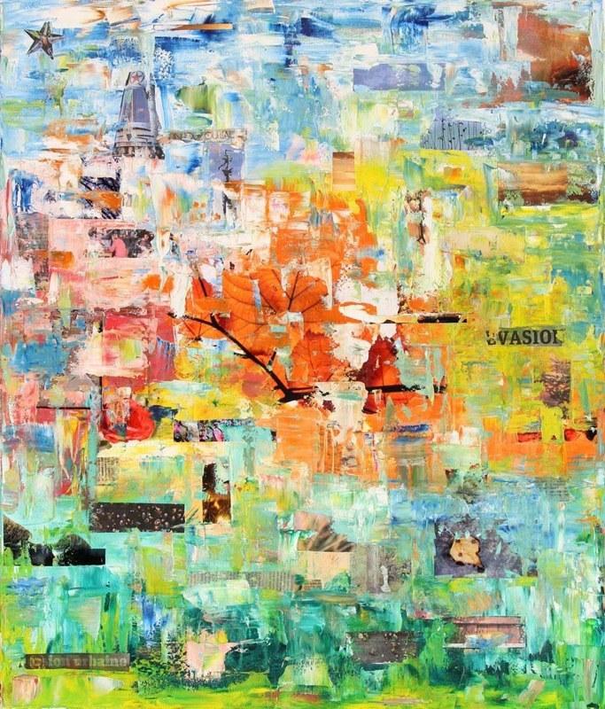 Peinture 4 saisons for Le jardin des 4 saisons pusignan