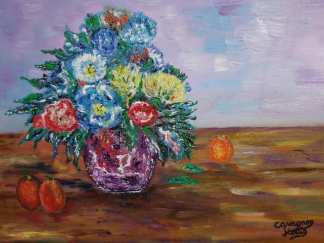 Peinture nature morte fleurs et fruits - Initiatives fleurs et nature ...