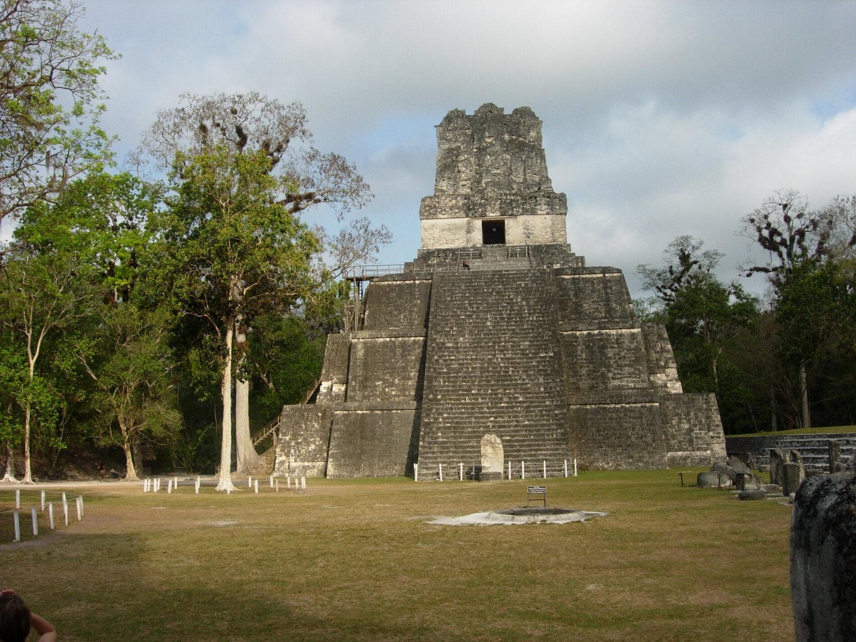 la pyramide du jaguar