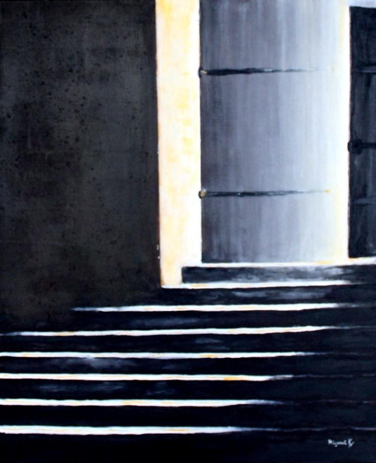 Peinture la derni re porte for Porte yannick