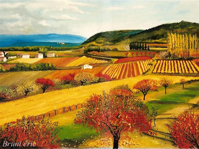 Peinture couleur d 39 automne - Couleurs chaudes en peinture ...