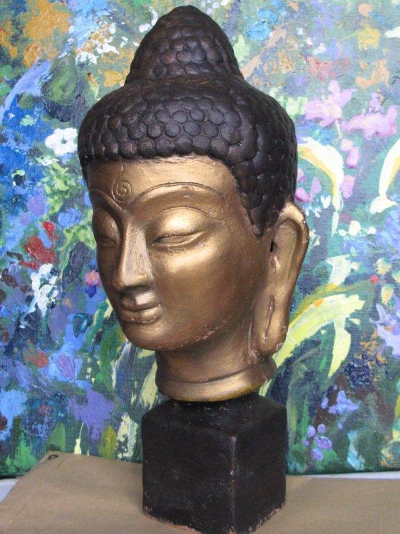 buste de Bouddha.