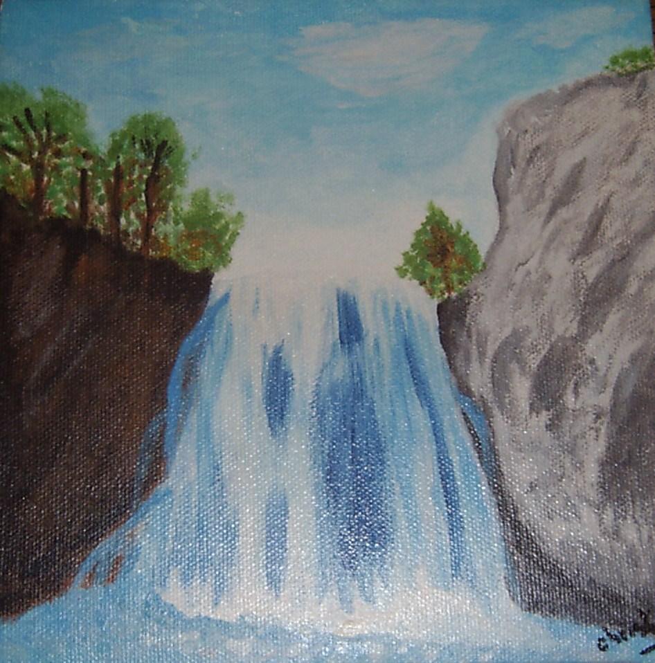 Peinture cascade for Comment diluer de la peinture
