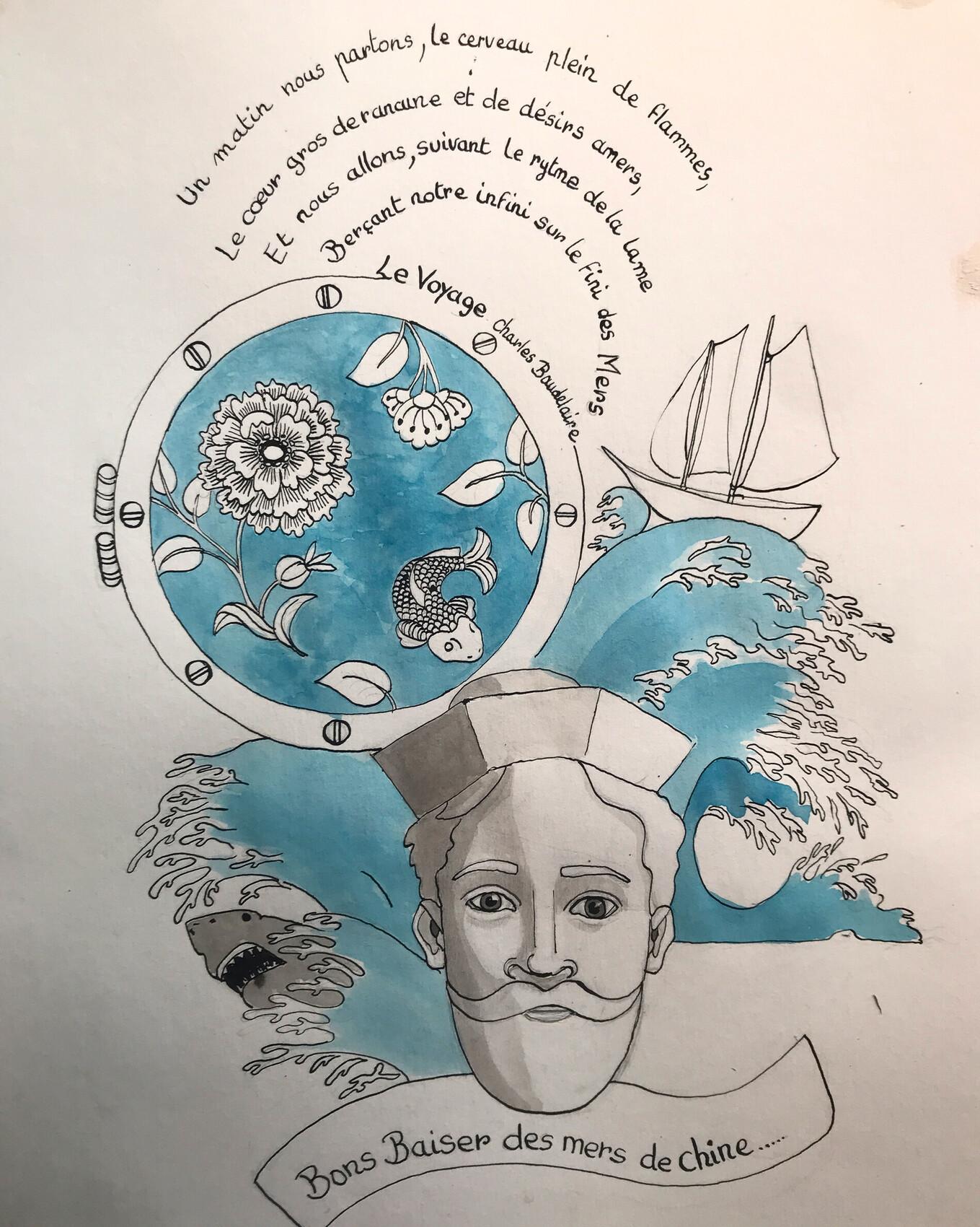 La carte postale du marin