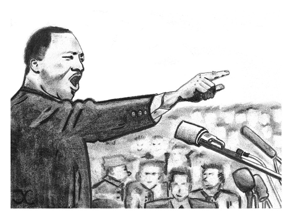 an interpretation of martin luther kings speech i have a dream Martin luther king jr took the lectern at the march on washington 50 years  it  was king's dream — not his march, said eric arnesen, a george  this nation  will rise up and live out the true meaning of its creed: 'we hold.