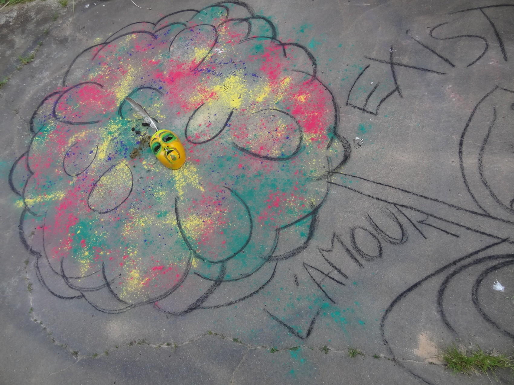 Poetic street art