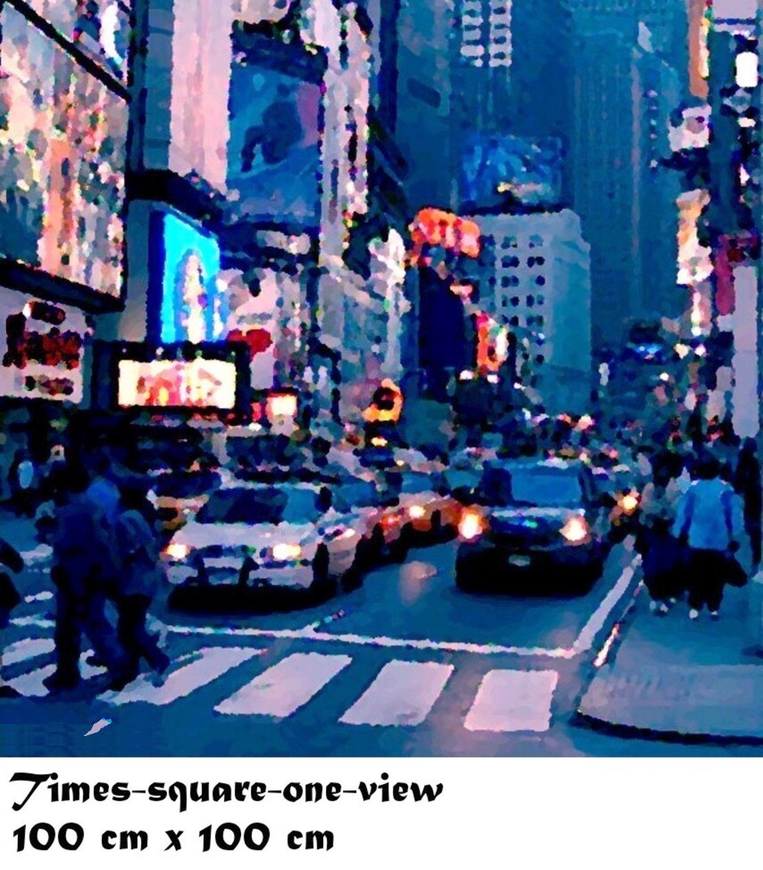 Times square one view