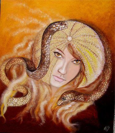 Peinture l 39 oeuf de serpent - Peinture effet serpent ...