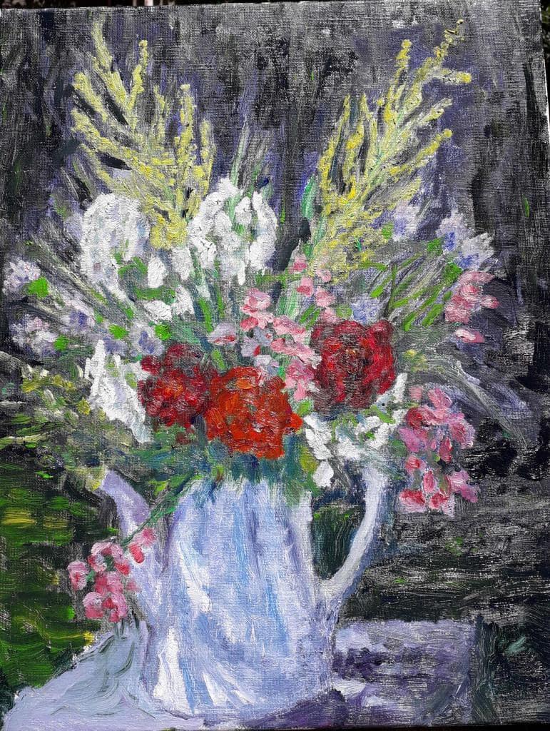 Bouquet fleurs sauvages