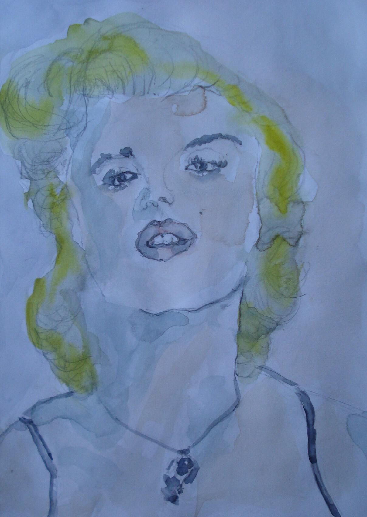 portrait de marylin monroe