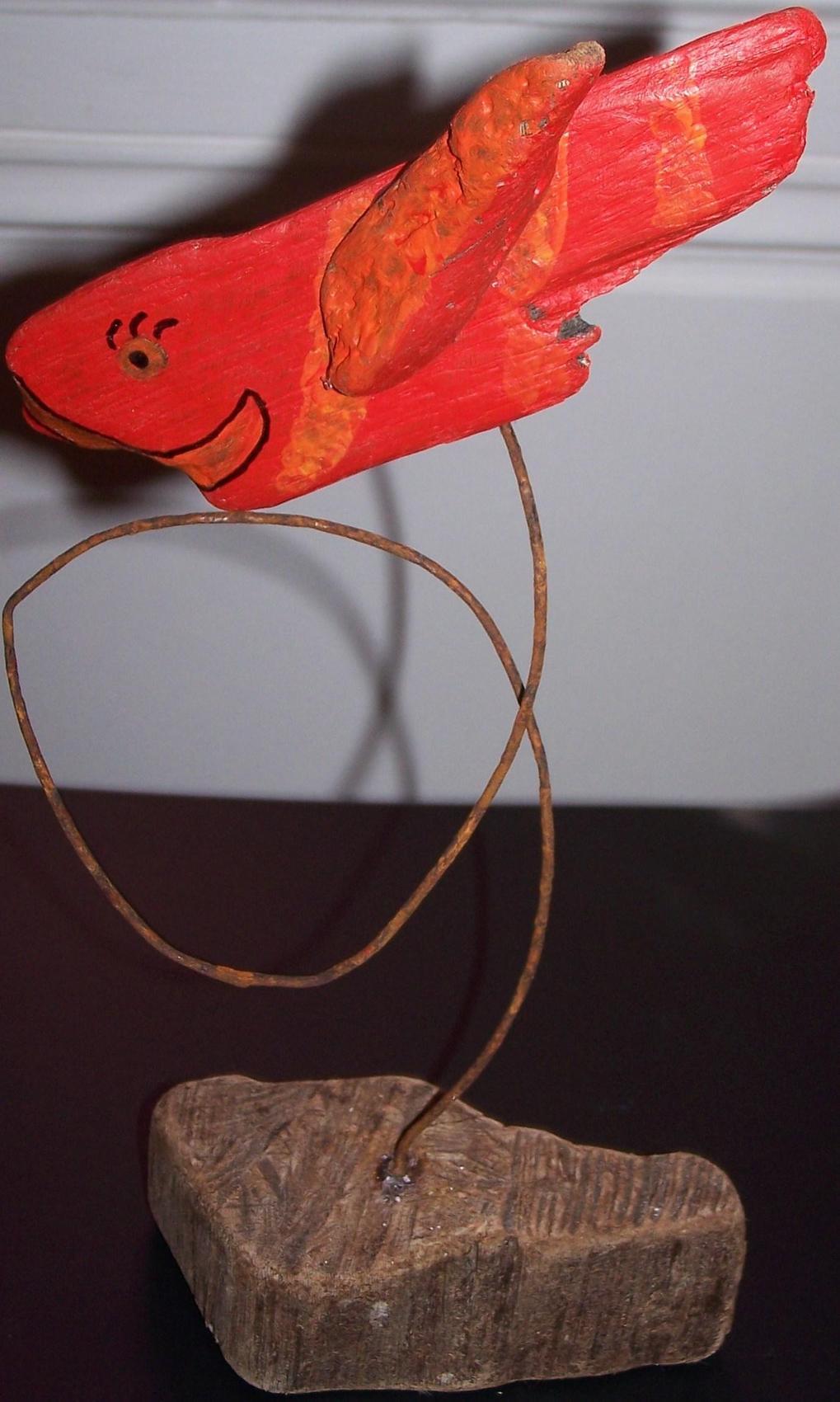 Peinture poisson rouge for Vente poisson rouge montpellier