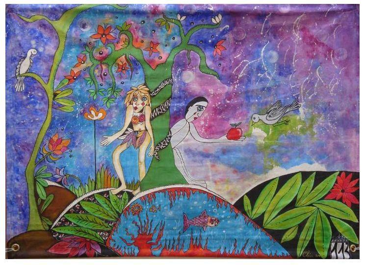 Peinture paradis perdu ou jardin imaginaire for Jardin imaginaire