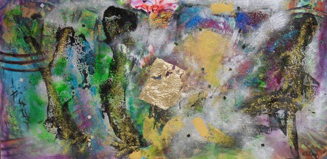 Peinture le jardin des hesp rides - Le jardin des hesperides ...