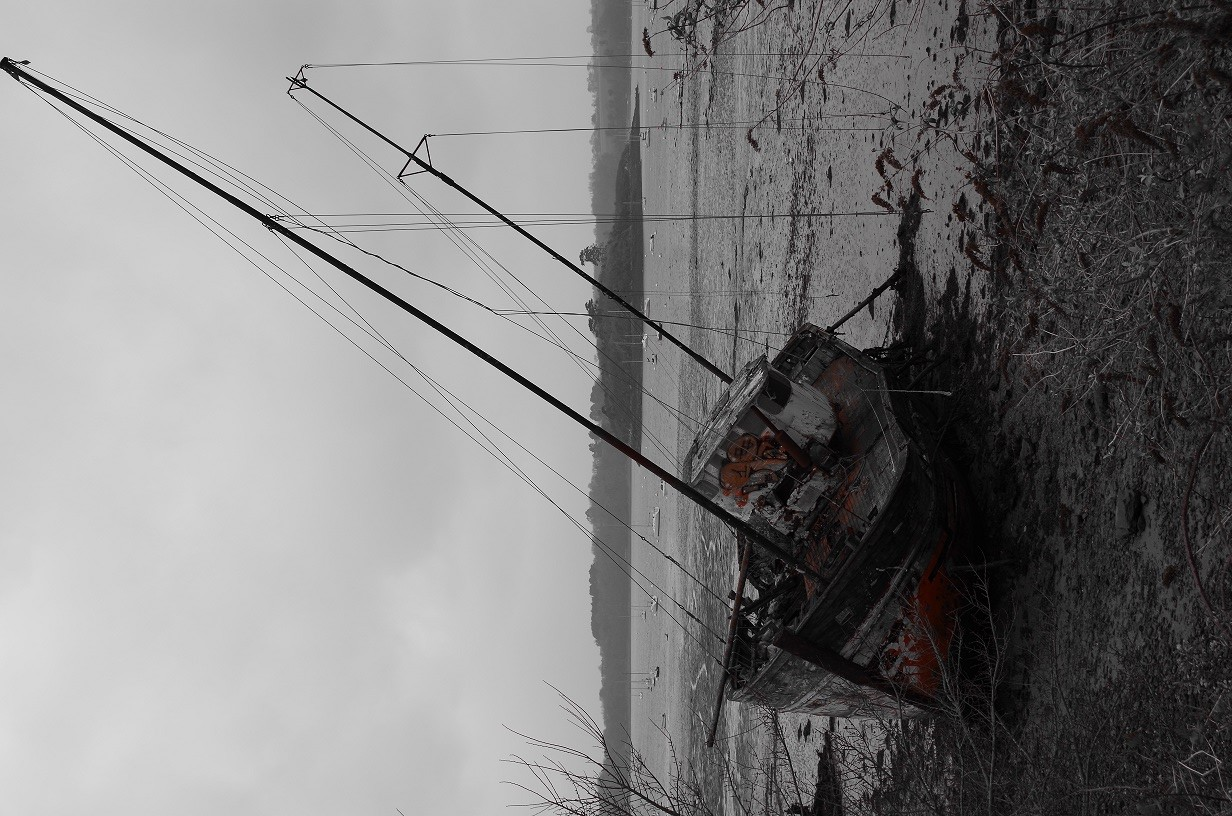 photo cimetière de bateau