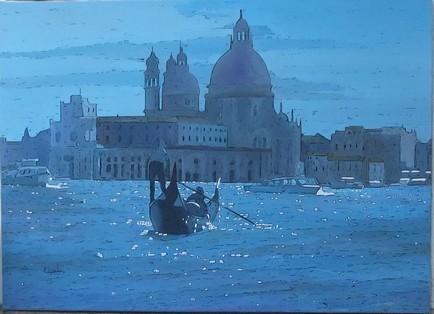 Gondola blue II