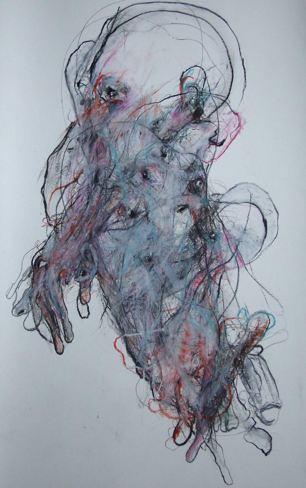 dessin technique mixte 2012 1,50x0,70