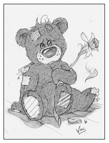 Ours en peluche dessin - Dessin ours en peluche ...